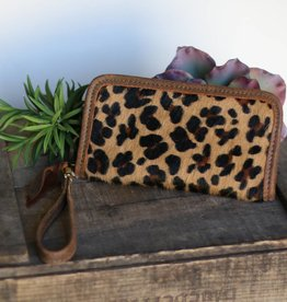 Leopard Zipper Wallet