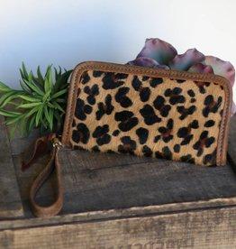 Leopard Zipper Wallet
