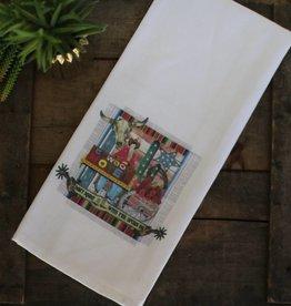 Cowboy Motel Cup Towel