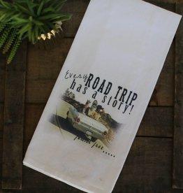 Road Trip Cup Towel