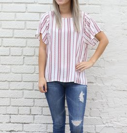 Boxy Printed Blouse