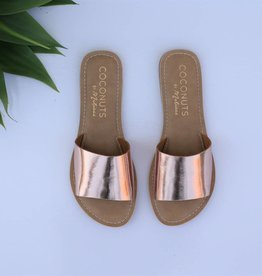 Rose Gold Slide Sandal