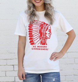 White Chief Modern Conveniences Graphic Tee