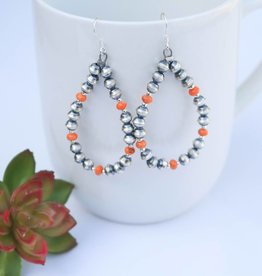 Teardrop Navajo Pearls & Spiny Oyster