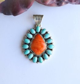 Punchy's Kingman and Spiny Oyster Pendant
