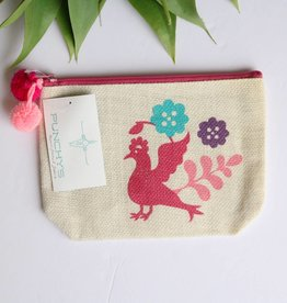 Small Otomi Print Multipurpose Bag