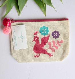 Small Otomi Print Multipurpose Bag