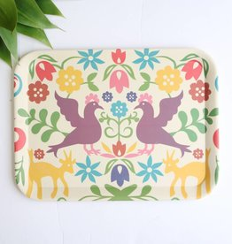 Large Otomi Print Eco Friendly Tray