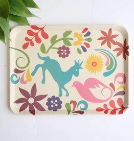 Small Otomi Print Eco Friendly Tray