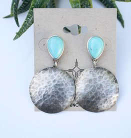 Punchy's Haley's Hammered Campetos Earrings
