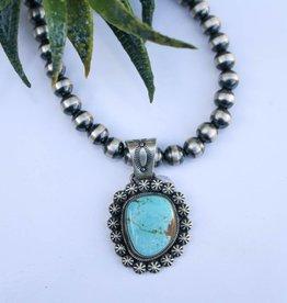 Punchy's #8 Mine Turquoise Pendant