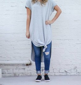 Cap Sleeve Shirtdress