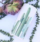 Small Cylinder Cacti Vase - Planter