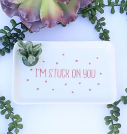 Punchy's Cactus Jewelry Tray - I'm Stuck On You