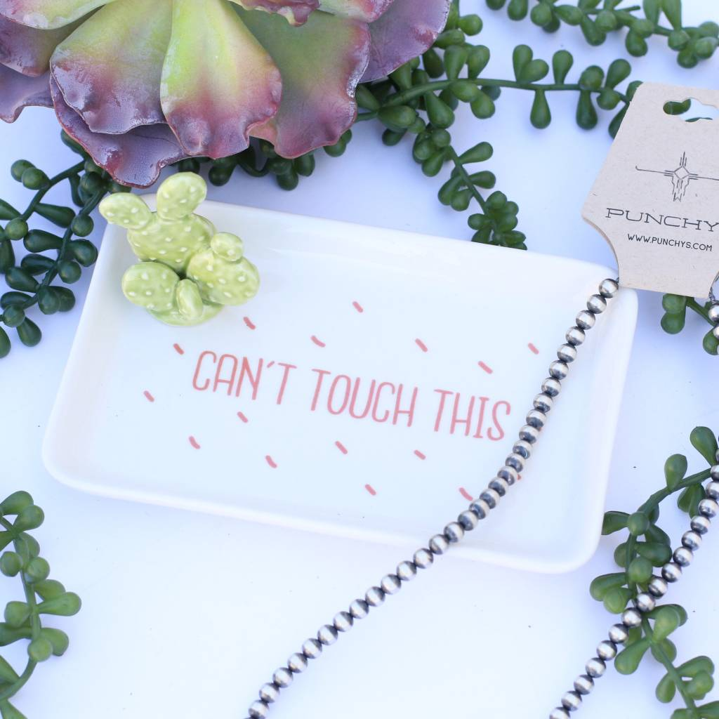 Cactus Jewelry Tray - Can't Touch This