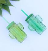 Cactus Mason Jar Cup