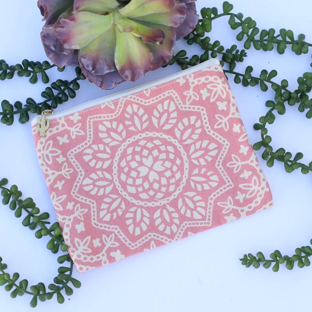 Metallic Mandala Pattern Multipurpose Bag