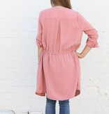 Dusty Rose Shirtdress