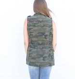 Camo Cargo Vest