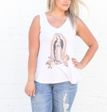 Lady of Guadalupe V-Neck Tank