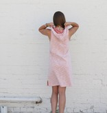Sleeveless Hoodie Dress Tunic
