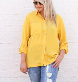 Mustard Button Up