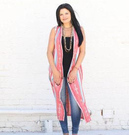 Indian Summer Sleeveless Duster