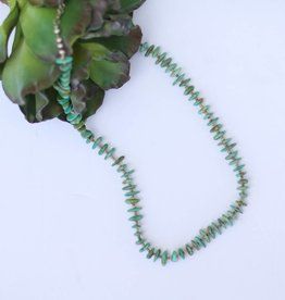 Punchy's Small Campo Frio Turquoise and Heishe Necklace