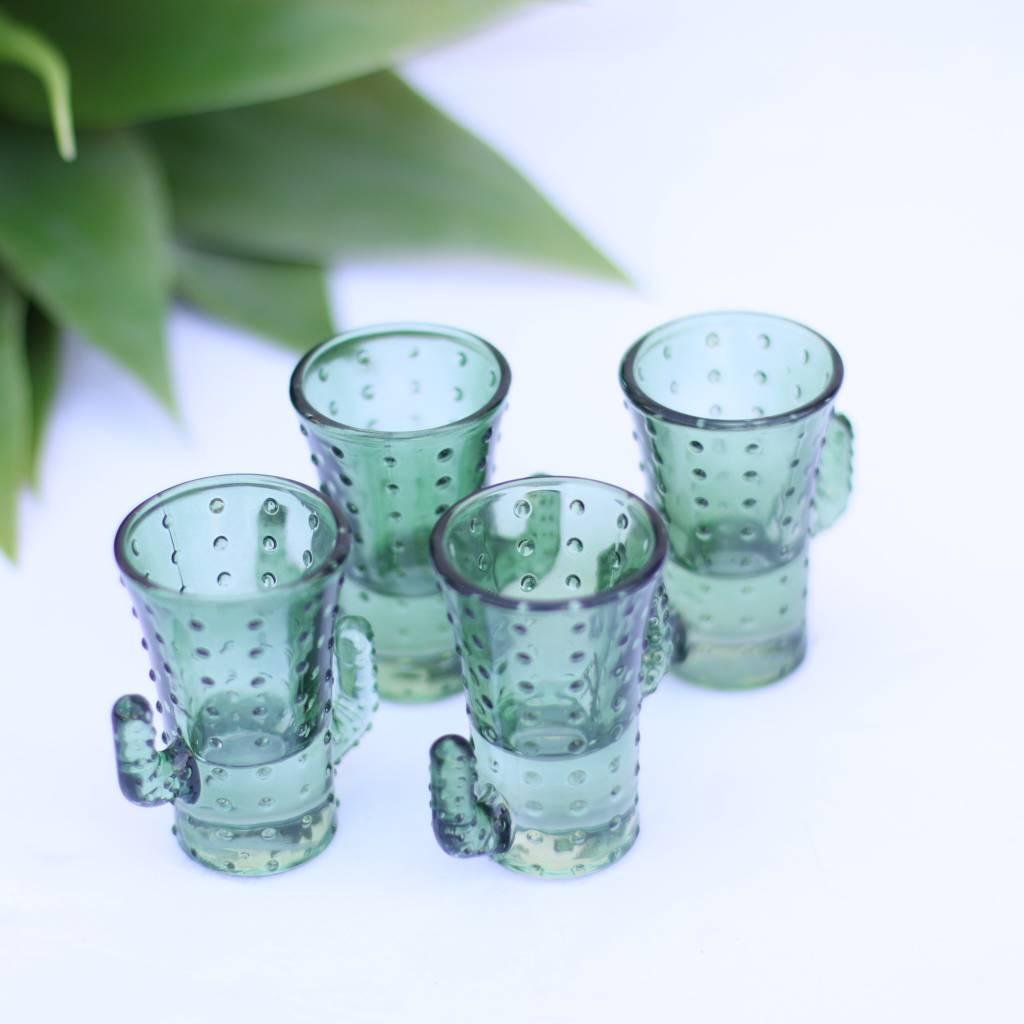 Cactus Shot Glass - Set of 4