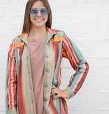 Grand Canyon Serape Button Down Shirt