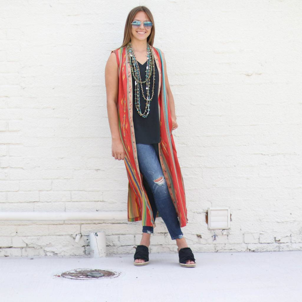 Trailblazer Sleeveless Duster
