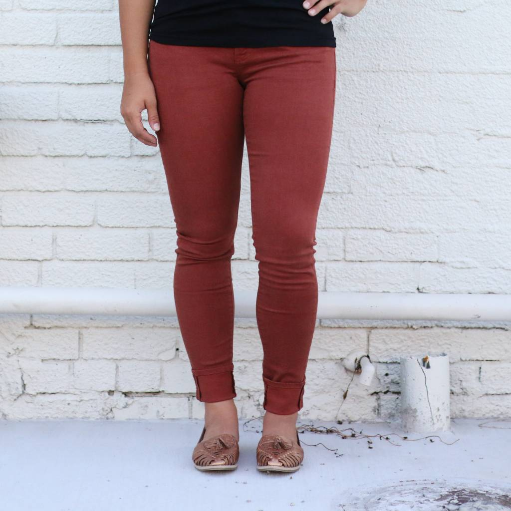 Punchy's Henna Joyrich Comfort Colored Skinny
