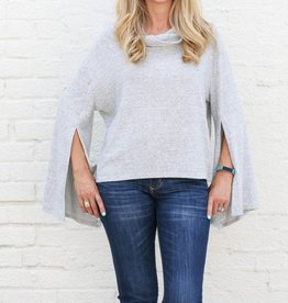 Cowl Neck Pullover Knit