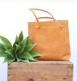 Knotted Rachel Leather Tote