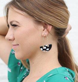 Punchy's Tortoise Boat Earrings