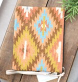 Multi Color Navajo Carpet Clutch