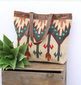 Punchy's Navajo Inspired Carpet Tote