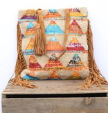 Punchy's Feeling Fringy Triangle Tote