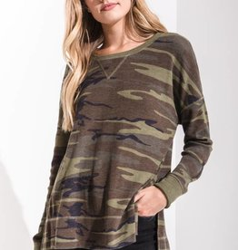 Z Supply The Camo Side Slit Thermal