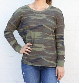 The Camo Side Slit Thermal