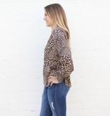 Leopard Long Sleeve Blouse