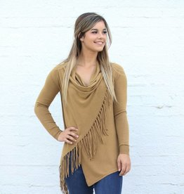 Punchy's Honey Fringe Sweater Cardigan