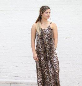 Punchy's Go Wild Leopard Print Maxi Dress