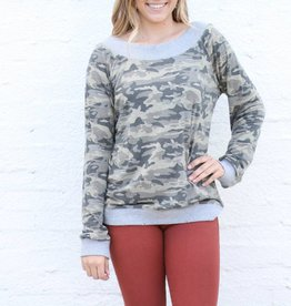 Punchy's Comfy Camo Long Sleeve