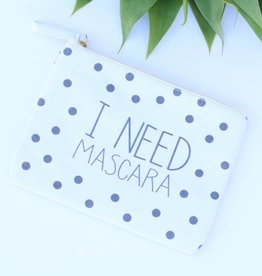 Punchy's I Need Mascara Makeup Pouch