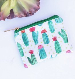 Punchy's Small Succulent Cactus Blooms Bag