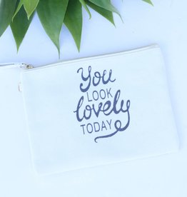 Punchy's You Look Lovely Today Makeup Pouch