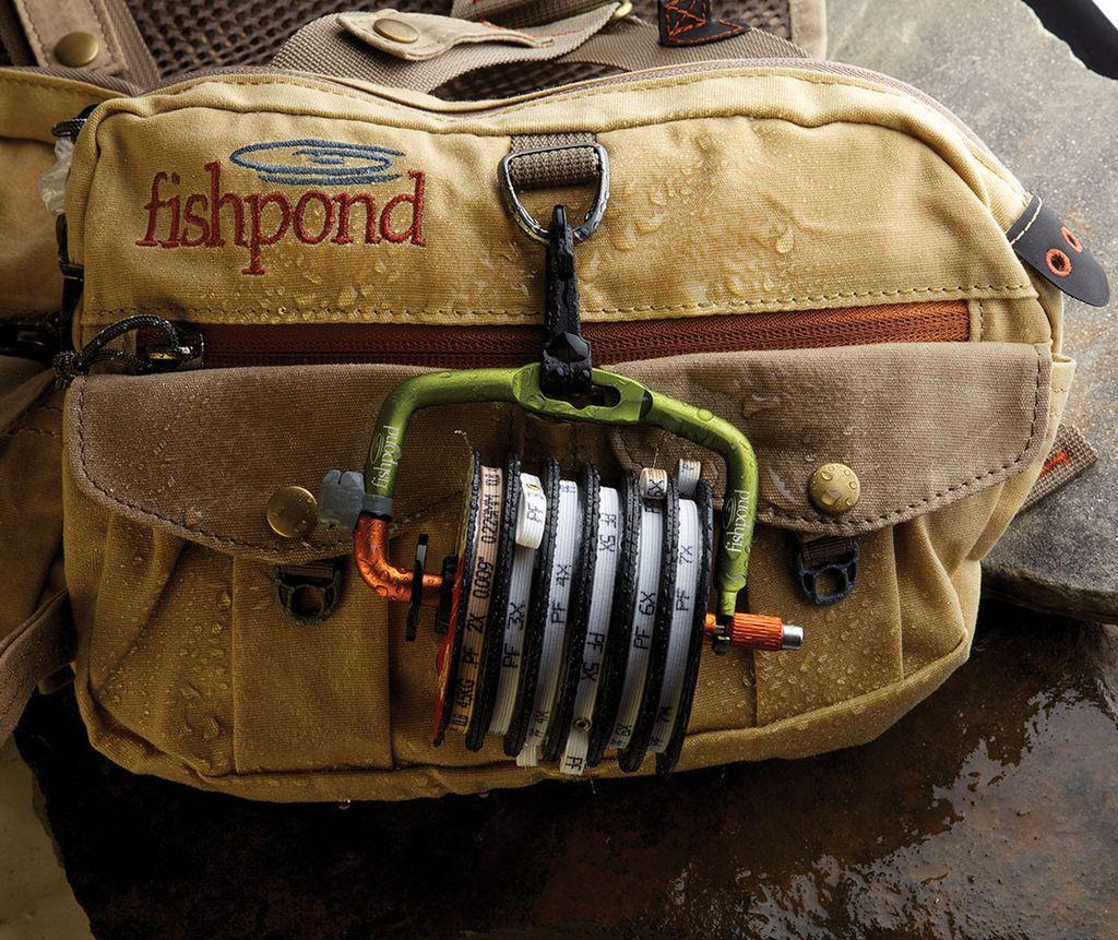 Fishpond Fishpond Headgate Tippet Holder, Lichen