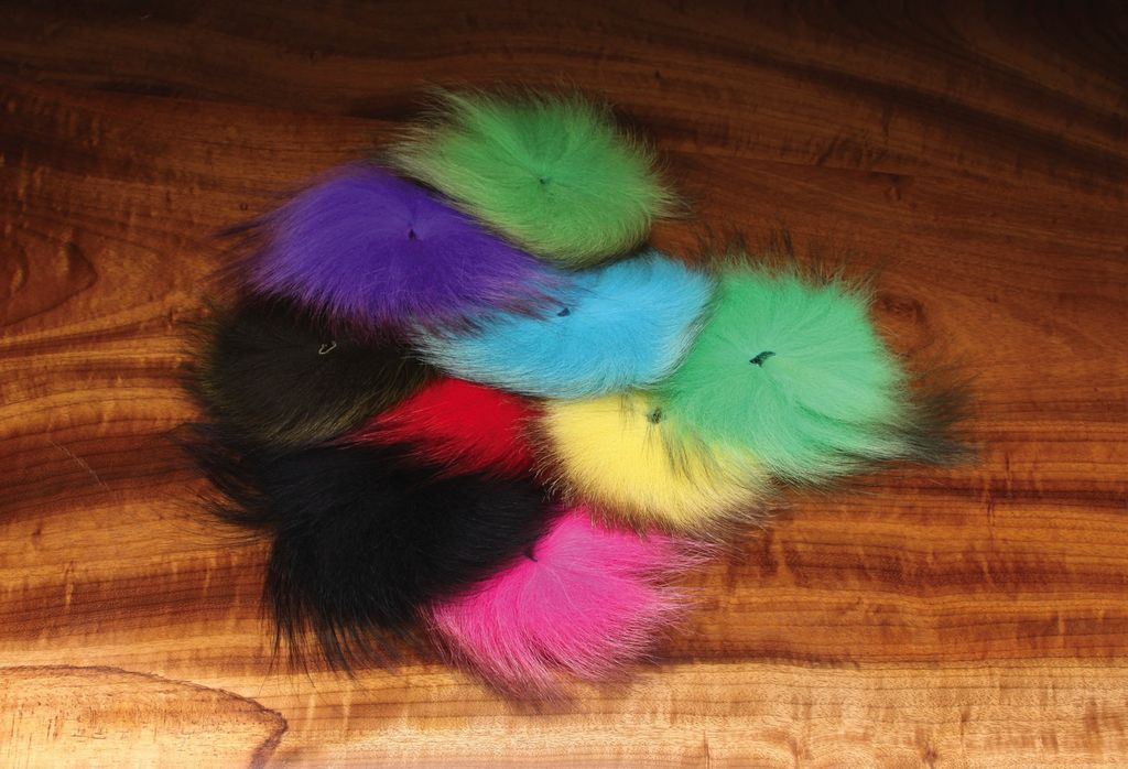 Hareline Dubbin Arctic Fox Tail Hair