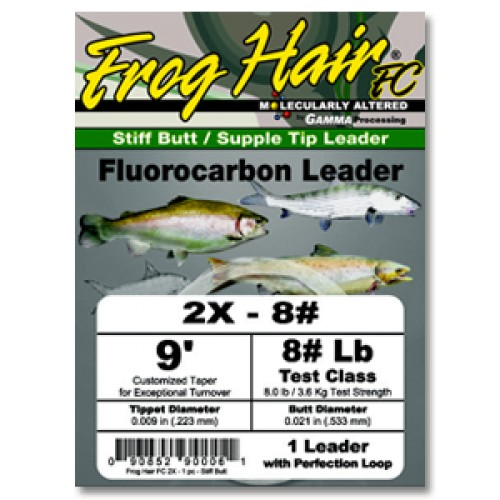 Black Knight/Frog Hair Frog Hair Fluorocarbon Leader